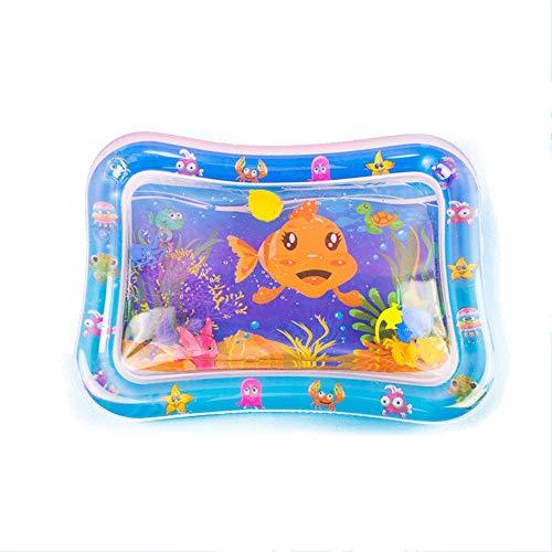 Tapis de Jeu Aquatique Bébé Temps Gonflable Tummy Kid Tapis de Jeux d'eau for Les Nourrissons Haut de Gamme Tapis de Jeu d'eau Nourrissons Fun sensorielle Jouets Cadeau