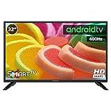 Television LED 32' INFINITON Smart TV-Android TV (TDT2, HDMI, VGA, USB) (32 Pulgadas)
