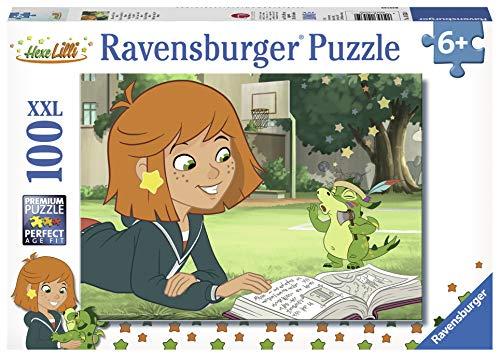 Ravensburger 10535 - Lilli und Ihr Drache Hektor, 100 Teile XXL Puzzle