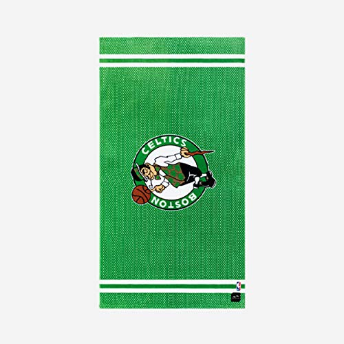 Slowtide - Celtics Jersey Beach Towel | 100% Cotton - Drying Loop - 60 x 30 Inches