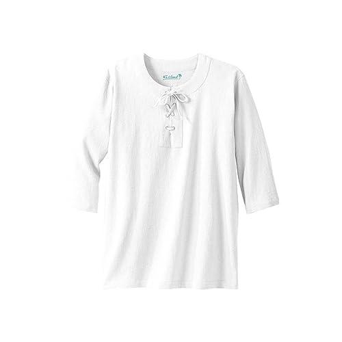 7d780a2a27e31 KingSize Men s Big   Tall Gauze Lace-Up Shirt