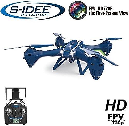 s-idee 1622 Quadrocopter UDI U842W WiFi Drohne FPV HD Kamera 4.5 Kanal 2.4 Ghz Drone mit Kamera Gyro 6 Axis Technik RC Quadro 3D VR m ich, H nstabilisierung, One Key Return Coming Home Funktion
