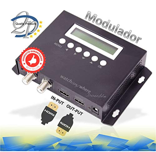 Modulador Audio Video DVB-T con Entrada HD Watch Any Where Double COFDM h.264 Doble HDMI GBS