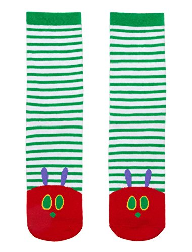Out of Print World of Eric Carle, The Very Hungry Caterpillar Unisex Socks Large