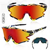 Zoom IMG-1 queshark occhiali ciclismo con 1