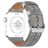 Retro Correa para Apple Watch 44mm Series 5/4 42mm Series 3 2 1, DaGeLon Vendimia Excelente Deportes...