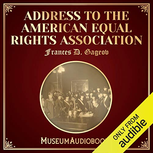 Address to the American Equal Rights Association Titelbild