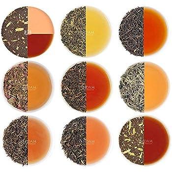 VAHDAM Assorted Loose Leaf Tea Sampler - 10 TEAS 50 SERVINGS - Black Tea Green Tea Oolong Tea Chai Tea White Tea | Tea Variety Pack | Hot Iced Kombucha Tea