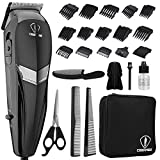 HairClippers&WiredclippersformenProfessionalAllinone24Piece...