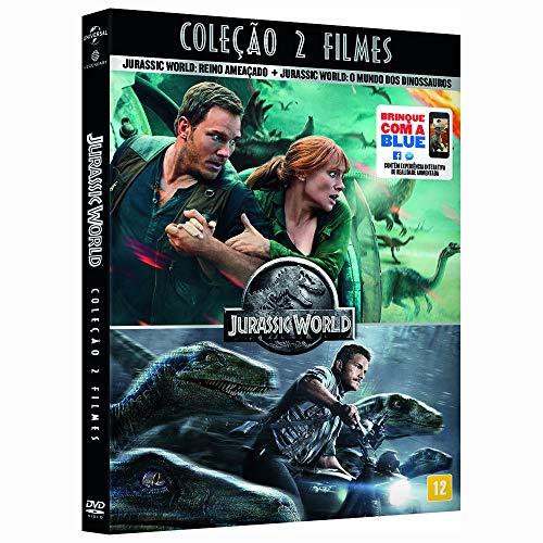 JURASSIC WORLD COLEÇÃO 2 FILMES DVD