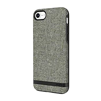 Incipio Carnaby iPhone 8 & iPhone 7 Case [Esquire Series] with Co-Molded Design and Ultra-Soft Cotton Finish for iPhone 8 & iPhone 7 - Forest Gray