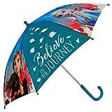 4675 ディズニー アナと雪の女王 子供用 傘 直径72cm Disney Frozen2 umbrella [並行輸入品]