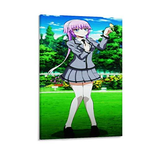 GDFG Ritsu Assassination Classroom Anime Comic Art 4K Hd Póster artístico en lienzo y arte de pared impresión artística moderna para dormitorio familiar 40 x 60 cm