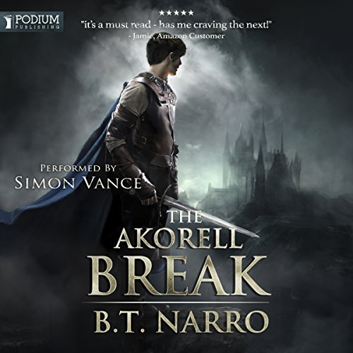 The Akorell Break audiobook cover art
