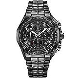 WWOOR Multifunction 4 in 1 Reloj Hombre Relojes Digitales Cronógrafo Relojes de Pulsera Calendario Analógico Relojes Militar Impermeable