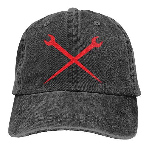 Lsjuee Pitbull Lives Matter Gorra de Mezclilla Deportiva ajustableCasquettes Unisex PlainCowboy Hat Negro