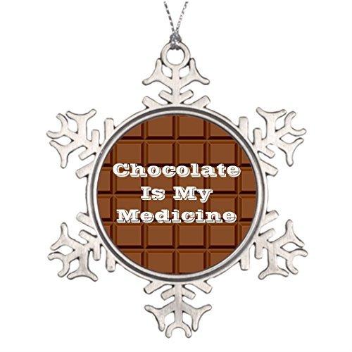 Cukudy Boomtak Decoratie Chocolade Is Mijn Geneeskunde Ongebruikelijke Kerstboom Decoraties Snoep
