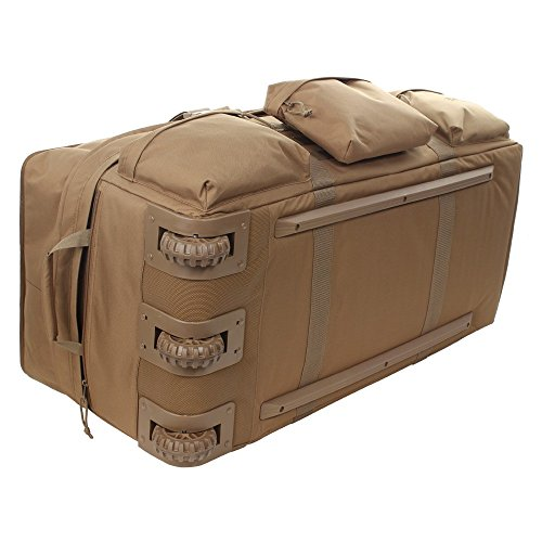 Sandpiper of California 2038-O-CB Rolling Loadout Luggage X-Large Bag (Brown, 15.5x37x17-Inch) Connecticut