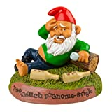 BigMouth Inc Hungover Garden Gnome