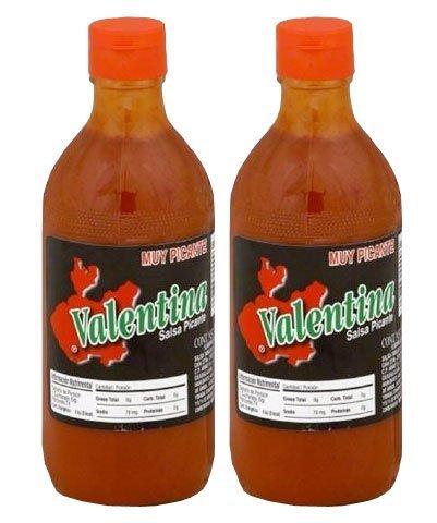 Valentina Pack 2x370 ml Salsa Mexicana Extra Picante en Caja de Cartón.