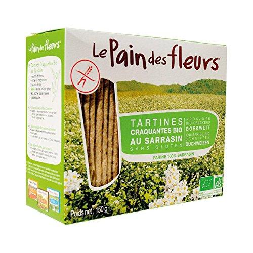 LE PAIN DES FLEURS - Tartine Craquante Au Sarrasin 150G