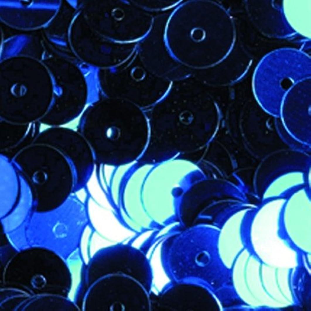 Efco Sequins Round Flat ? 6 mm 5 g / ~ 500 pcs. Blue