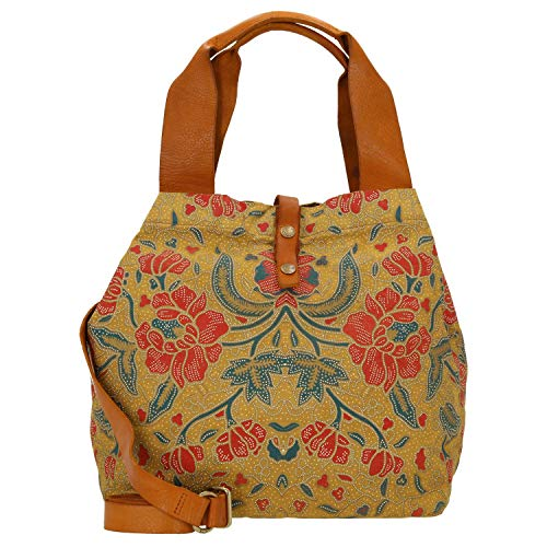 Campomaggi Shopping Bag 36 cm beige/Yellow Stained