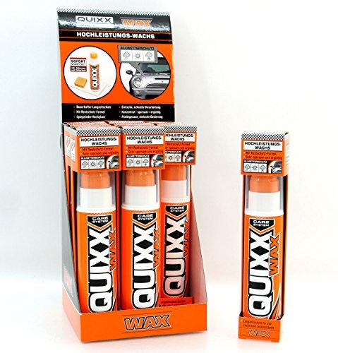 E.V.I. GmbH QUIXX Wax Auto Cera Cera de Alto Rendimiento Barniz Cuidado 175g