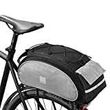 Roswheel 14541 Multifunctional Bike Rear Seat Cargo Bag Bicycle Rack Trunk Panniers