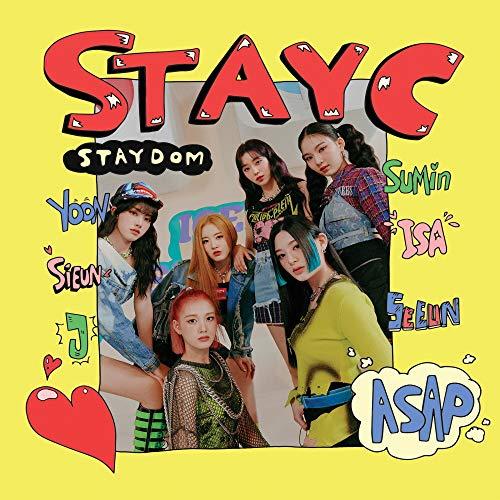 ステイシー - STAYDOM (2nd Single Album)+Folded Poster [韓国盤]