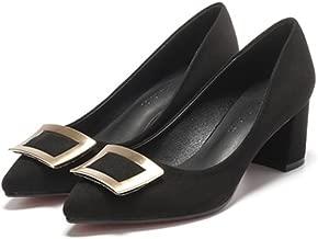 [クツのクロダ] レディース 靴 パンプス スエード ローカット 24.5cm 浅い口 スエードパンプス レディースファッション 新品