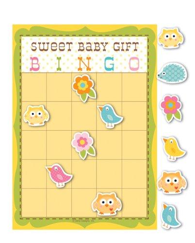 Unisex Baby Shower Happi Tree Bingo Game