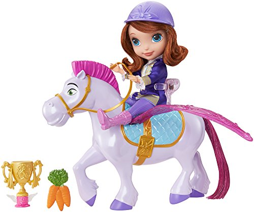 Disney Junior Sofía el Primer Vuelo mágico Princesa Sofía y Mínimus muñeca