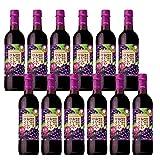 酸化防止剤無添加のおいしいワイン。 濃い赤 720ml (ペットボトル)×12本