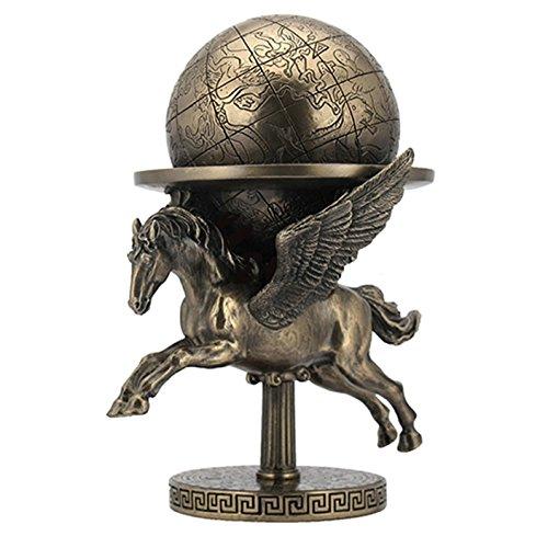 8' Pegasus Carrying The World Greek Mythology Roman Decor Statue Flying Horse
