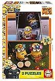 Despicable Me 3 Puzzle Madera Doble, 2 x 25 Piezas, 25 (Educa Borrás 17231)
