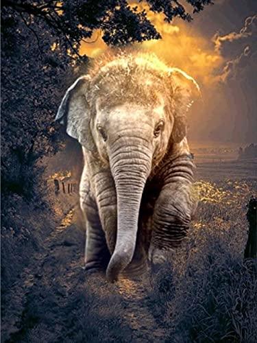 ZMGYA Puzzle Infantil de 1000 Piezas,Elephant-4000Rompecabezas para niños   Pasatiempos Familiar Adolescentes Rompecabezas de Piso de Impresión de Alta Definición