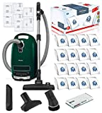 Miele Complete C3 Alize HEPA Canister Vacuum Cleaner with SBD285-3 Rug and Floor Tool Bundle - Includes Miele Performance Pack 16 Type GN AirClean Genuine FilterBags + Genuine AH50 HEPA Filter