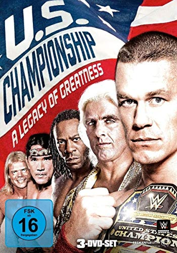 WWE -The U.S. Championship: A Legacy Of Greatness [3 DVDs]