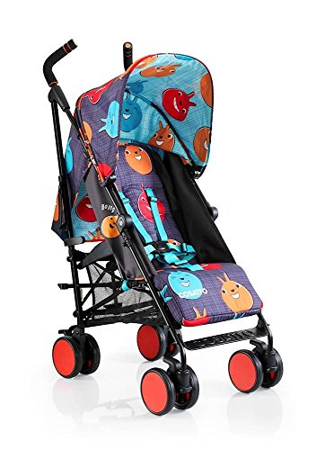 Cosatto Supa Go Stroller - Lightweight, Compact Umbrella Fold Pushchair | Suitable from birth to 25kg, Raincover (Spectroluxe)