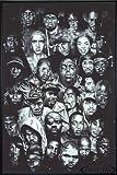 Close Up Hip Hop Poster (93x62 cm) gerahmt in: Rahmen