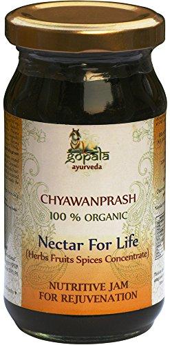 Organic CHYAWANPRASH - 250g | Ayurvedic Nutritive Jam Made with 100% USDA Certified Organic Herbs | All Natural Herbal Food Supplement