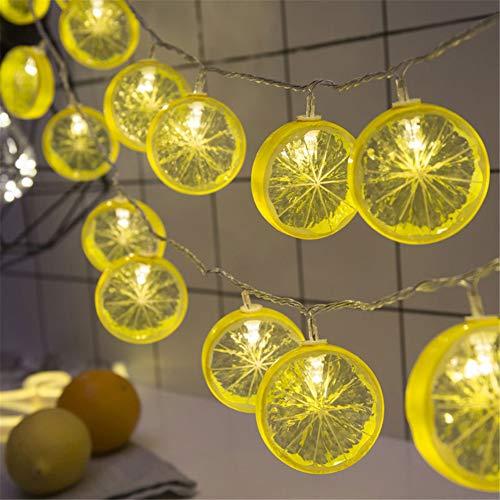 DC CLOUD Fairy Lights Guirnalda De Luces Led Luces de Hadas de Dormitorio Luces de Hadas para niñas Luces de Hadas alimentadas por batería Yellow