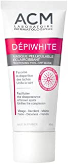 ACM Laboratoires DEPIWHITE Whitening Peel Off Mask 40ml. ELIMINATE BROWN SPOTS Skin Beauty Gift