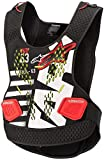 Alpinestars Sequence Motorcycle Chest Protector, Black/White/Red, X/2X