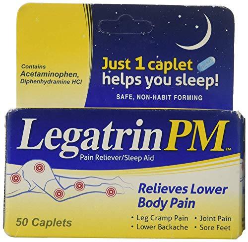 Legatrin PM Caplets, Pain Reliever with Sleep Aid - 50 Each