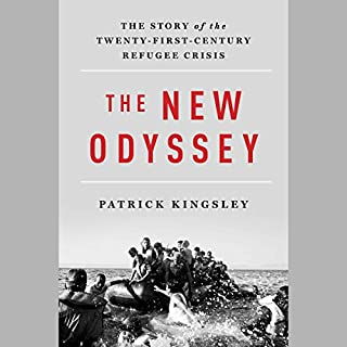 The New Odyssey audiobook cover art