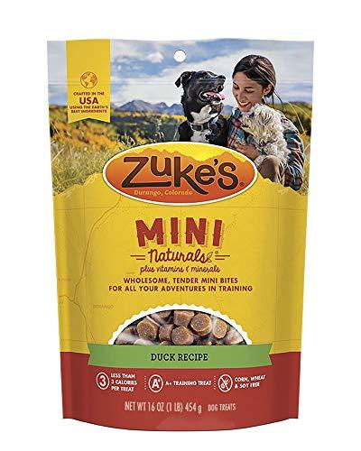Zukes Mini Naturals Dog Treats, Duck