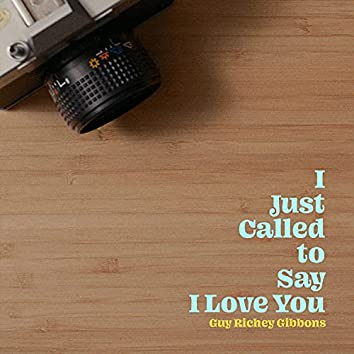 I Just Called to Say I Love You