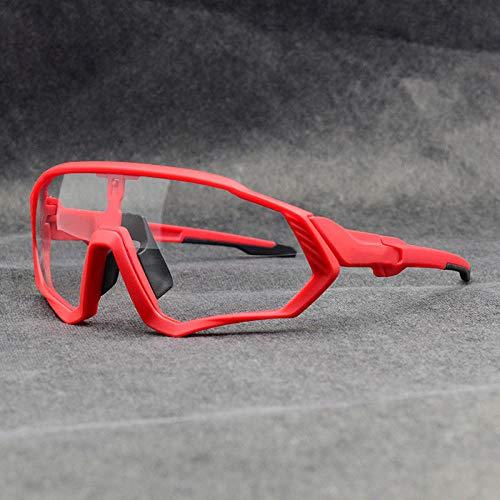 PSHKJ Gafas fotocromáticas Gafas de sol de ciclismo Hombres mujeres Deporte Mtb Mountain Bike Glasses-13
